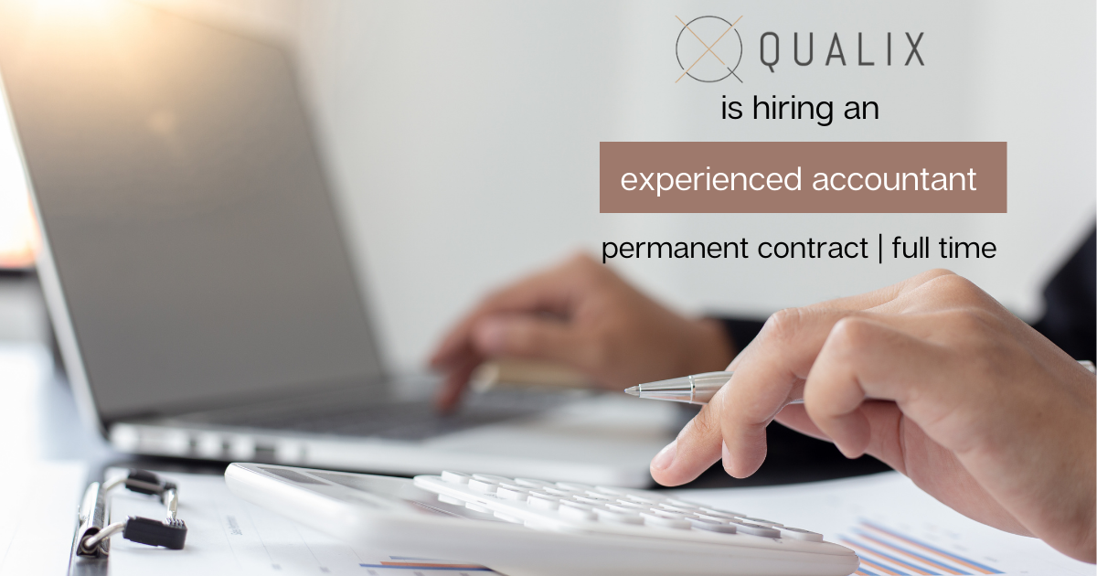Qualix is hiring an experienced accountant